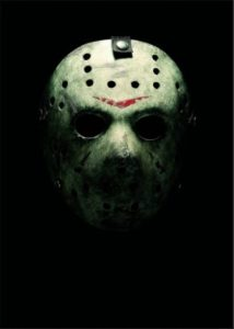 Friday the 13th Poster by Margarita Baes